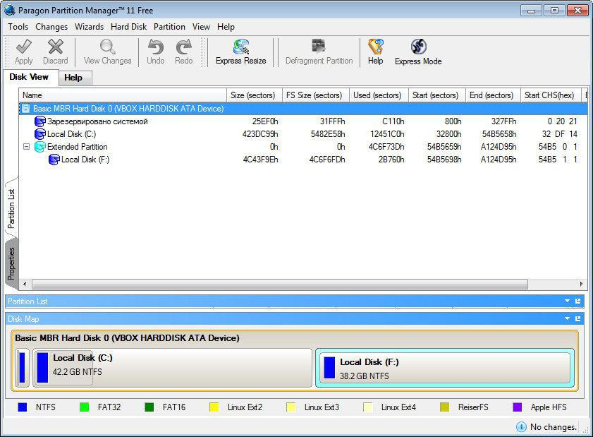 Partition Manager 11 Free