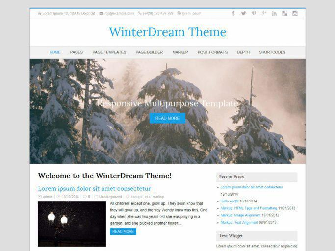 WinterDream Premium